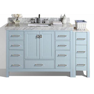Malibu 49 Single Modern Bathroom Vanity Set Base Finish: Gray