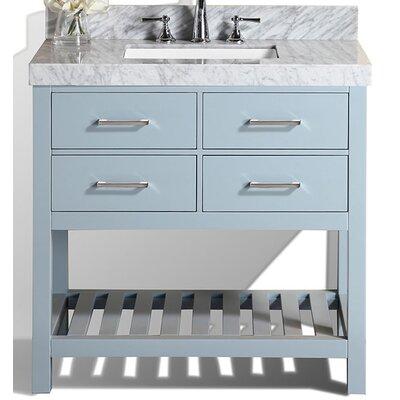 Laguna 41 Single Modern Bathroom Vanity Set Base Finish: Gray