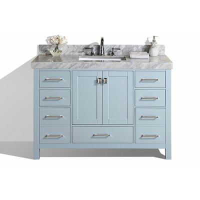 Malibu 61 Single Modern Bathroom Vanity Set Base Finish: Gray