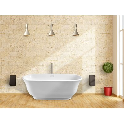 Imperial Oval 59 x 28 Soaking Bathtub