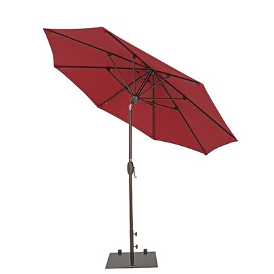 9 Market Umbrella Color: Jockey Red