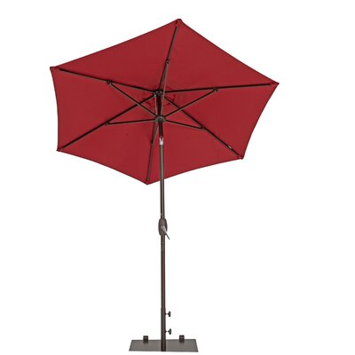 7 Market Umbrella Color: Jockey Red