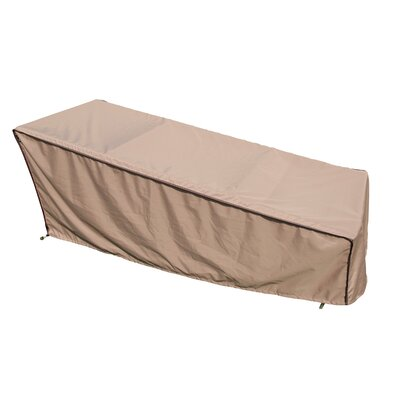 Chaise Lounge Cover Size: Small