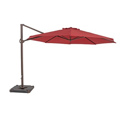 11.5 Cantilever Umbrella Color: Jockey Red