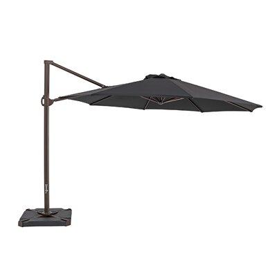 11.5 Cantilever Umbrella Color: Black