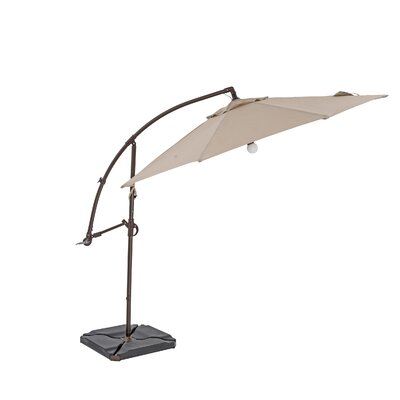 11.5 Cantilever Umbrella Color: Heather Beige