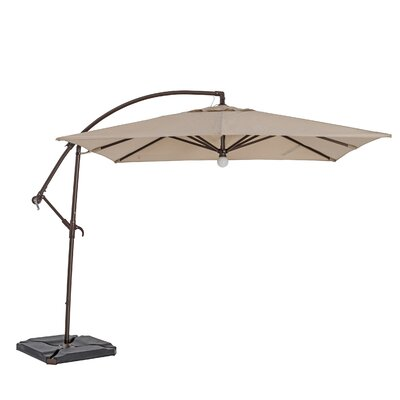 10 Square Cantilever Umbrella Color: Heather Beige