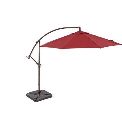10 Cantilever Umbrella Color: Jockey Red