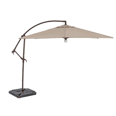 9 Square Cantilever Umbrella Color: Antique Beige