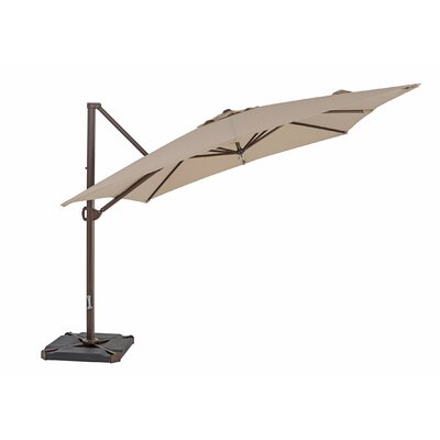 10 Square Cantilever Umbrella Color: Antique Beige