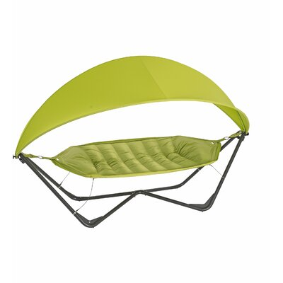 Gondola Polyester Hammock with Stand Color: Apple Green