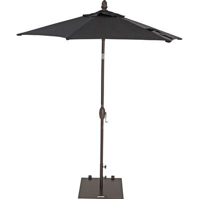 7 Market Umbrella Color: Black