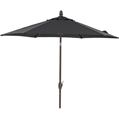 9 Market Umbrella Color: Black