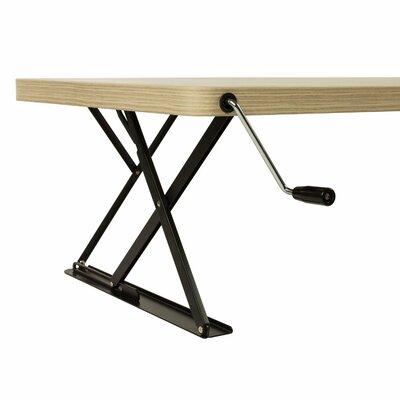 13.7 H x 47.2 W Standing Desk Conversion Unit Finish: Wood