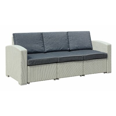 Ilka Sofa with Cushions Finish: Light Gray
