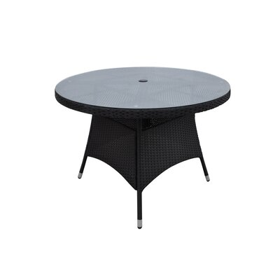 Tracey Dining Table Finish: Black