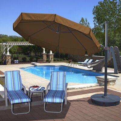 11 Freeport Cantilever Umbrella Color: Stone