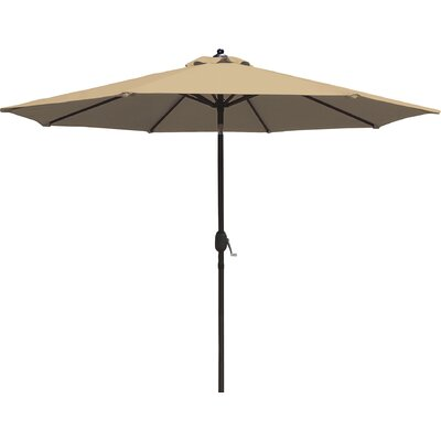 8.5 Mirage Market Umbrella Color: Beige