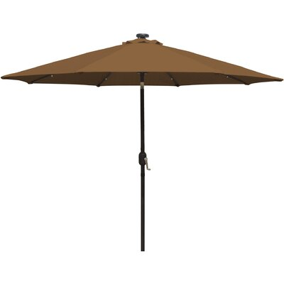 9 Mirage Illuminated Umbrella Color: Stone