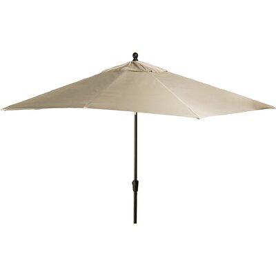 8 x 10 Caspian Rectangular Market Umbrella Color: Stone