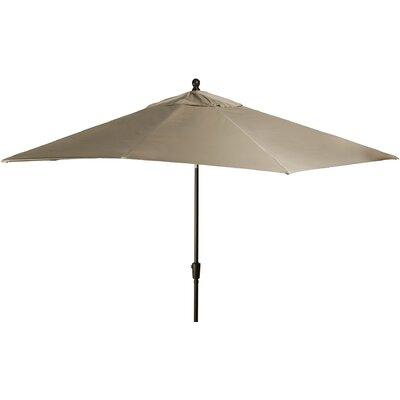 8 x 10 Caspian Rectangular Market Umbrella Color: Beige