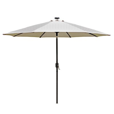 9 Mirage Illuminated Umbrella Color: Champagne