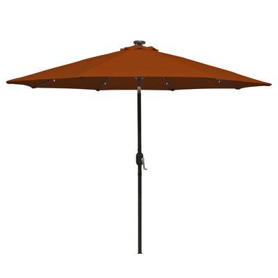 9 Mirage Illuminated Umbrella Color: Terra Cotta