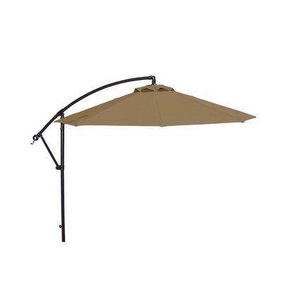 10 Cantilever Umbrella Fabric: Stone Sunbrella Acrylic