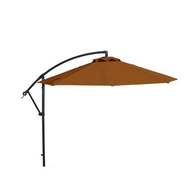 10 Cantilever Umbrella Fabric: Terra Cotta Sunbrella Acrylic