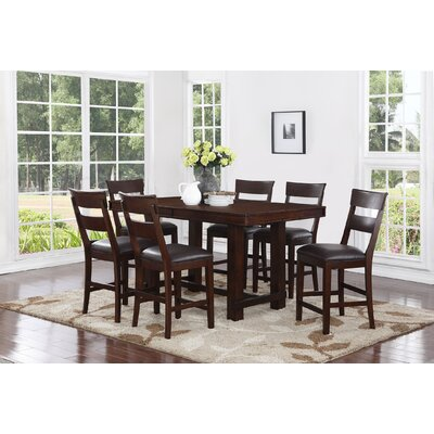 Norden 7 Piece Counter Height Dining Set