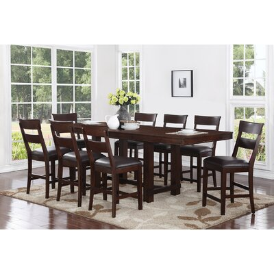 Norden 9 Piece Counter Height Dining Set