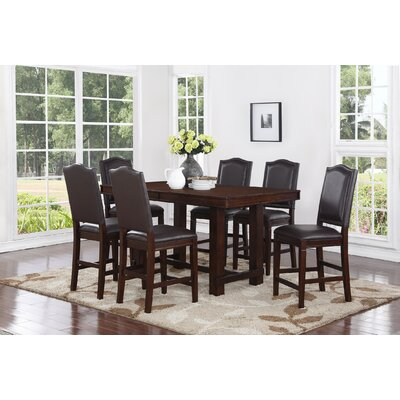 Marcie 7 Piece Counter Height Dining Set