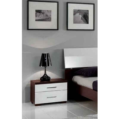 Noci 2 Drawer Nightstand