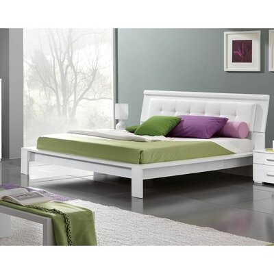 Upholstered Platform Bed Size: Full