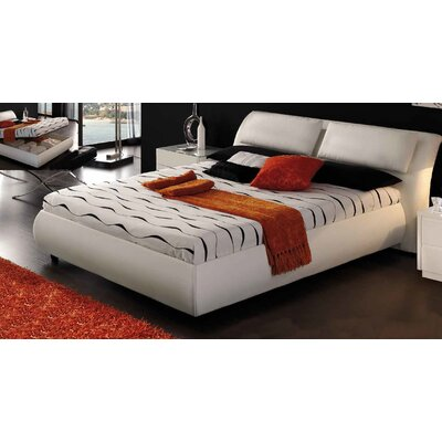 Upholstered Storage Panel Bed Size: King