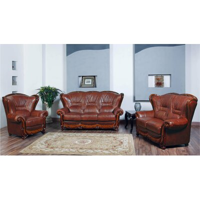 3 Piece Sofa and Loveseat with Chair Set