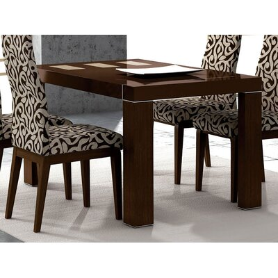 Extendable Dining Table Finish: Wenge