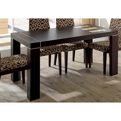 Extendable Dining Table Finish: Beige