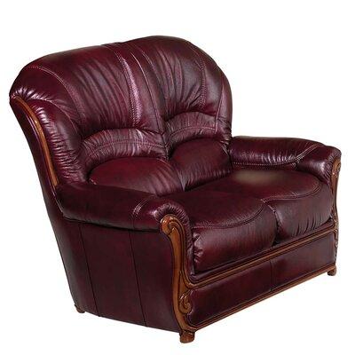 Leather Loveseat