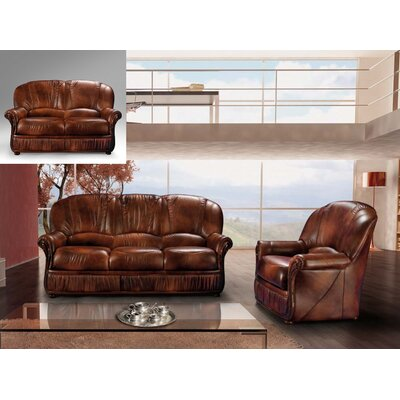 Brown 3 Piece Living Room Set