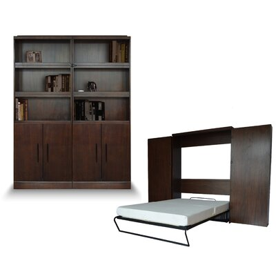 Bookcase Queen Murphy Bed