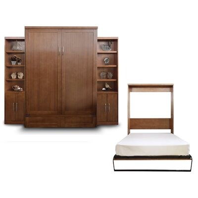 Delapaz Queen Murphy Bed Finish: Nutmeg