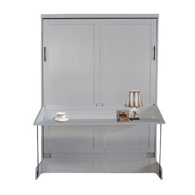 Andrew Queen Murphy Bed Finish: Pearl White