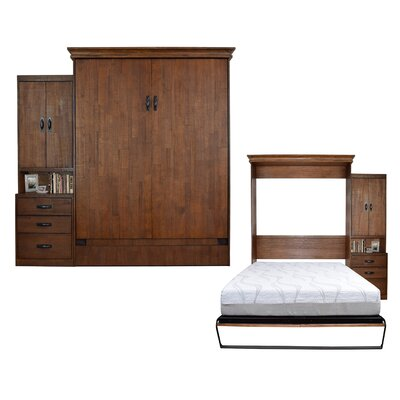 Cashman Queen Storage Murphy Bed