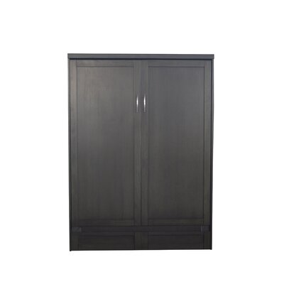 Andrew Queen Murphy Bed Finish: Metro Gray
