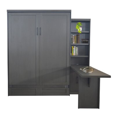 Delapaz Queen Murphy Bed