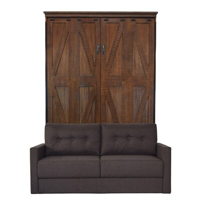 Kenilworth Queen Murphy Bed with Sofa Upholstery: Scotts Highland