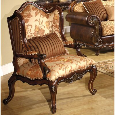 Bonded Fabric Wing back Chair