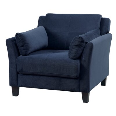 Fabric Armchair Upholstery: Navy