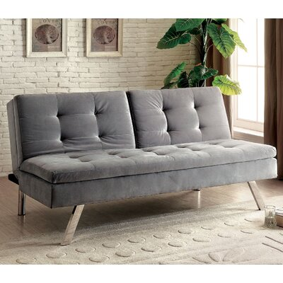 Riverside Tufted Flannelette Sleeper Sofa